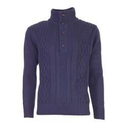 Sweater Boton Medio