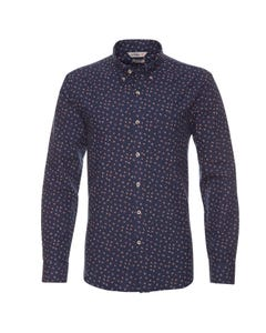 Camisa Oxford Estampada