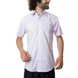Camisa Lisa Cuello Semi Italiano