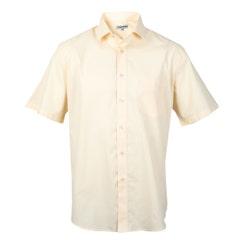 Camisa Lisa Manga Corta