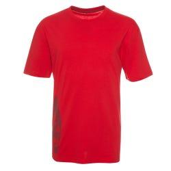 Polera Jersey Estampada Cuello Redondo